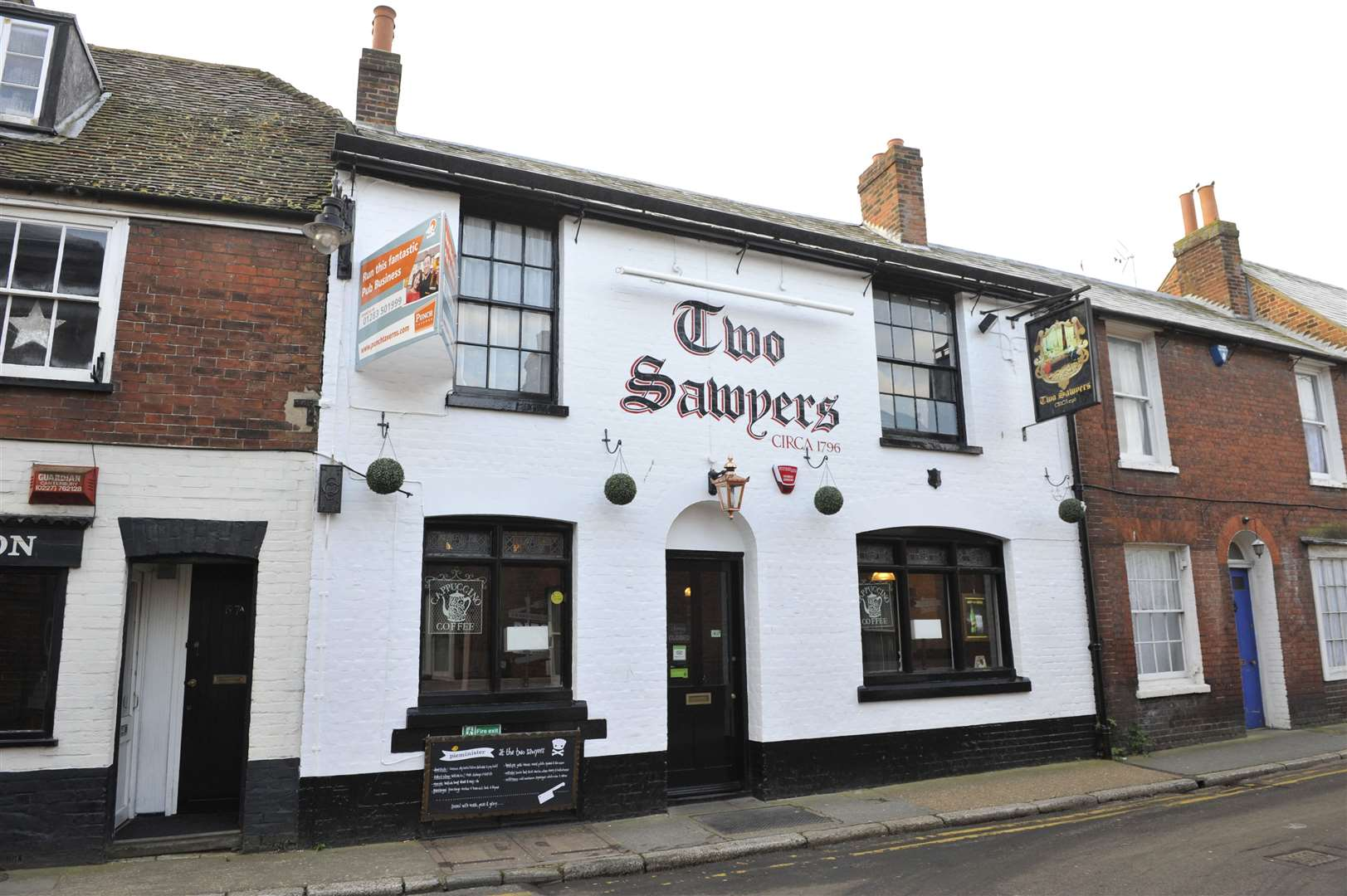 Tony and Bob were regulars at Canterbury pub the Two Sawyers before the pandemic