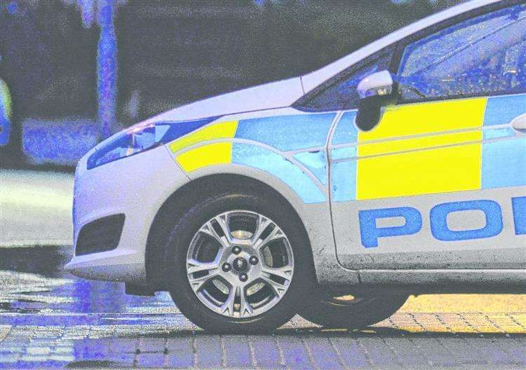 Police are investigating a crash which took place in Harvel last night