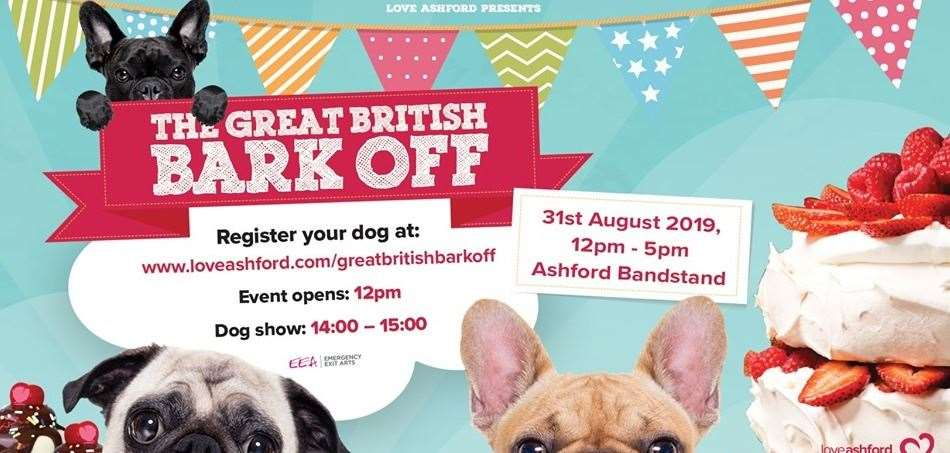 You can register your dog on the day for the Great British Bark Off