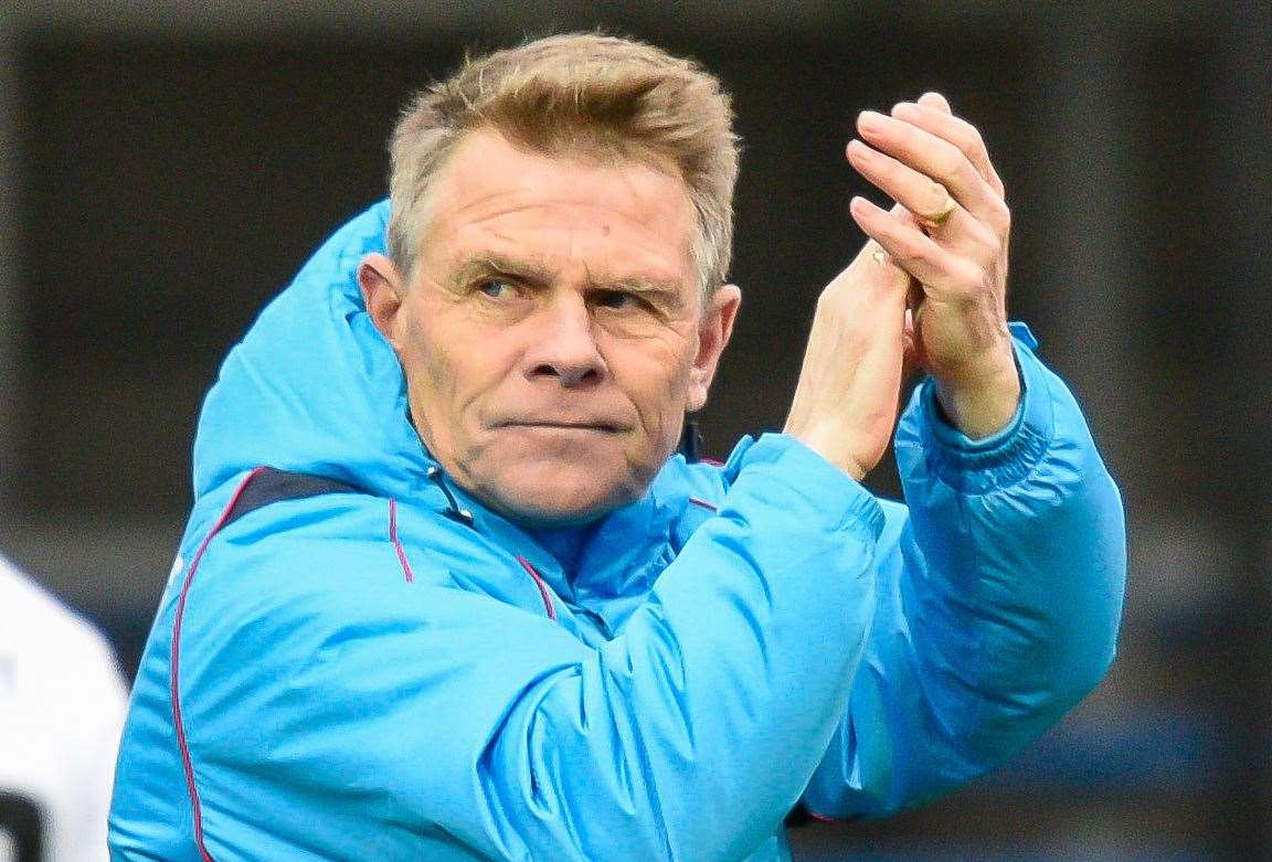 Dover manager Andy Hessenthaler Picture: Alan Langley