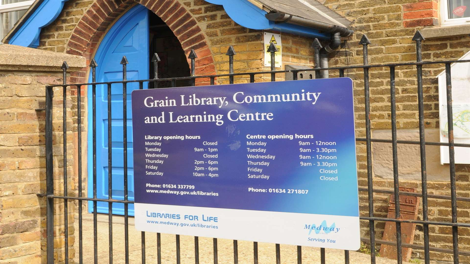 Grain Library, Chapel Road, Grain
