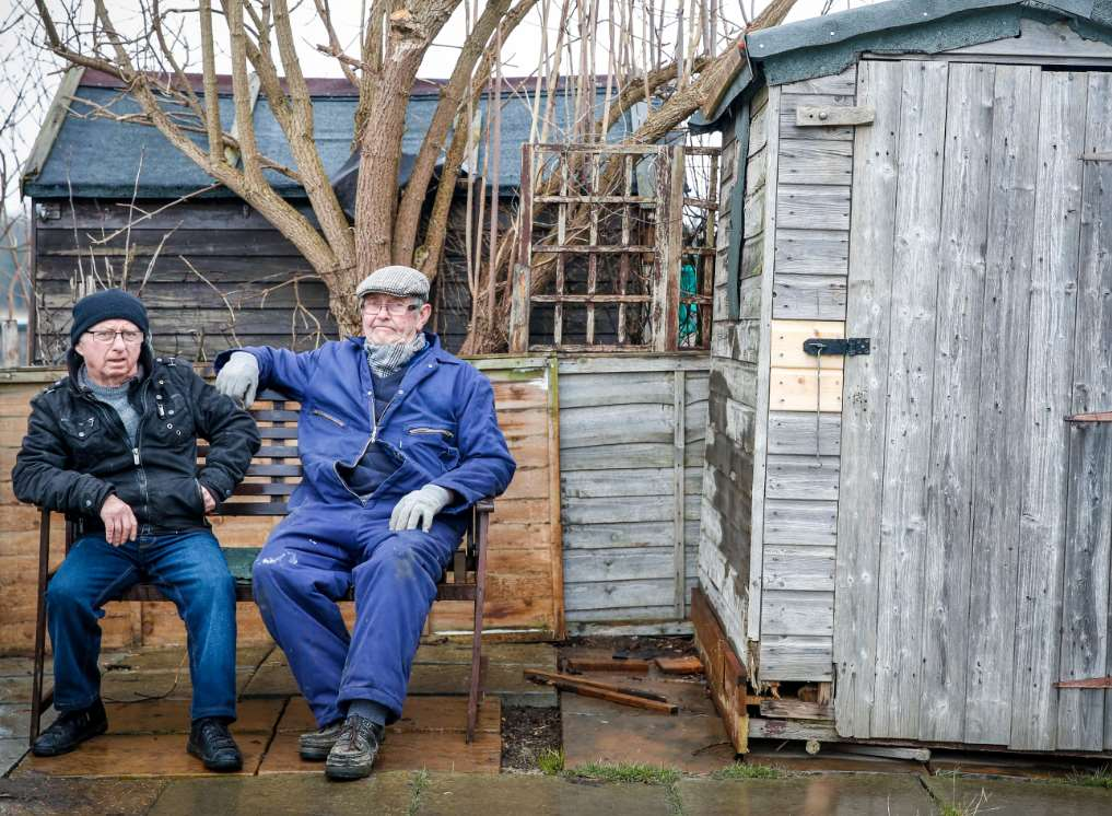 Shed Stolen At Riddles Road Allotment In Borden