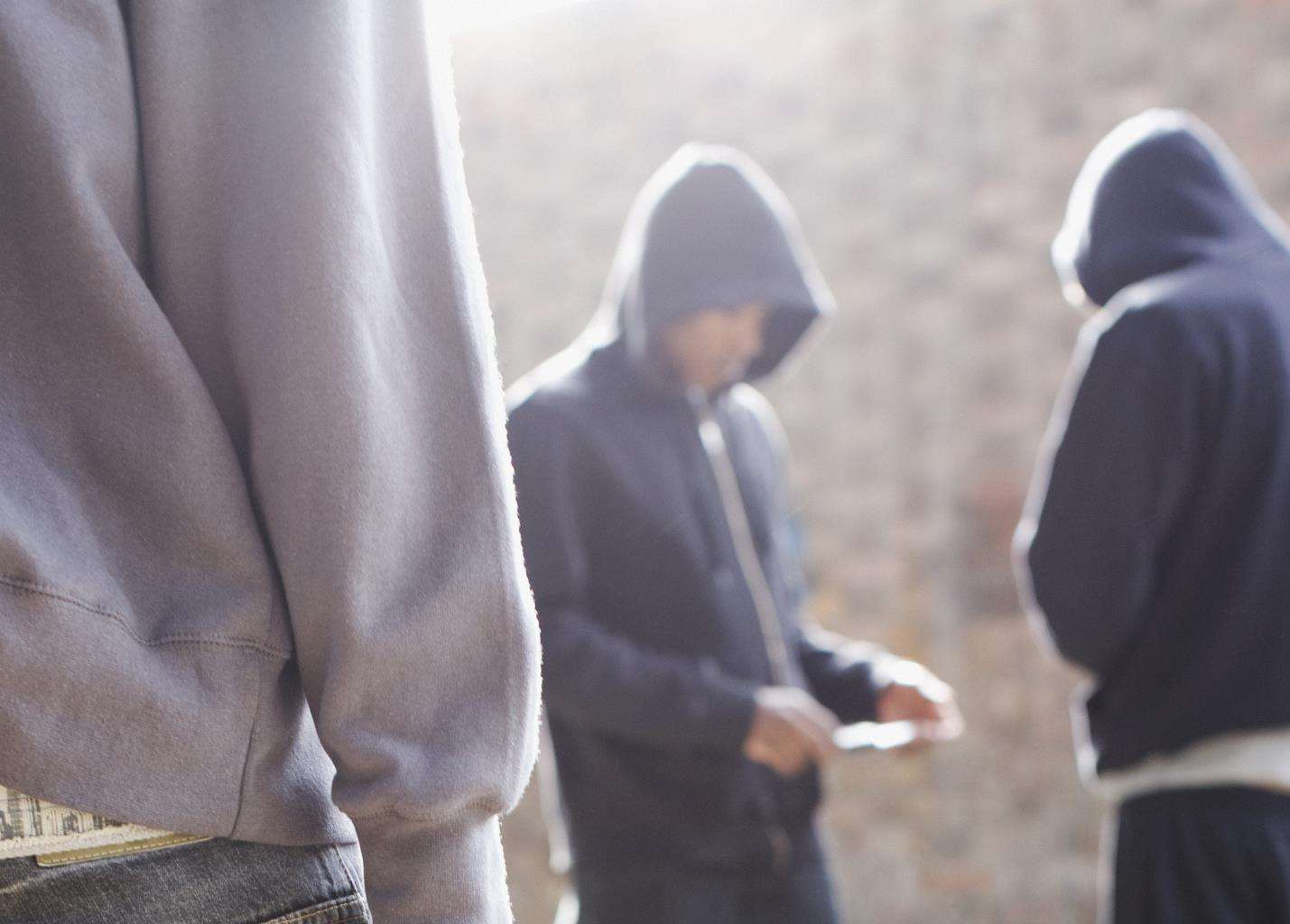 Children are being lured into drug gangs (3513030)