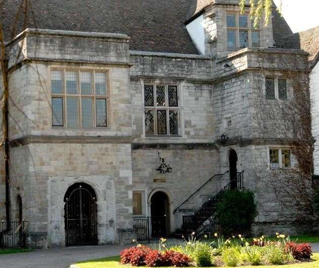 The inquest took place Archbishop's Palace, Maidstone