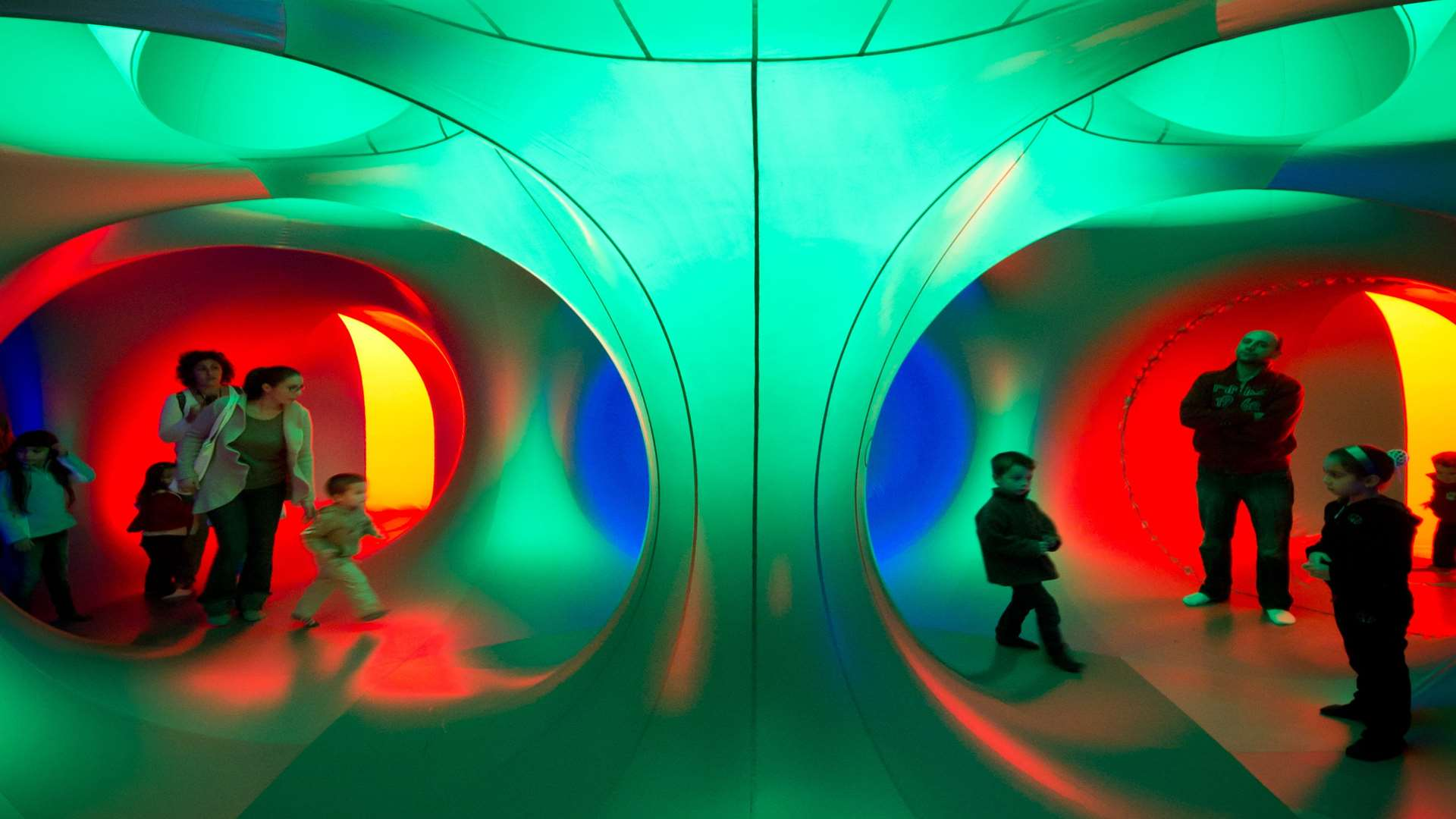 Thousands visited the Mirazoz Luminarium at last year's bOing! festival in Canterbury