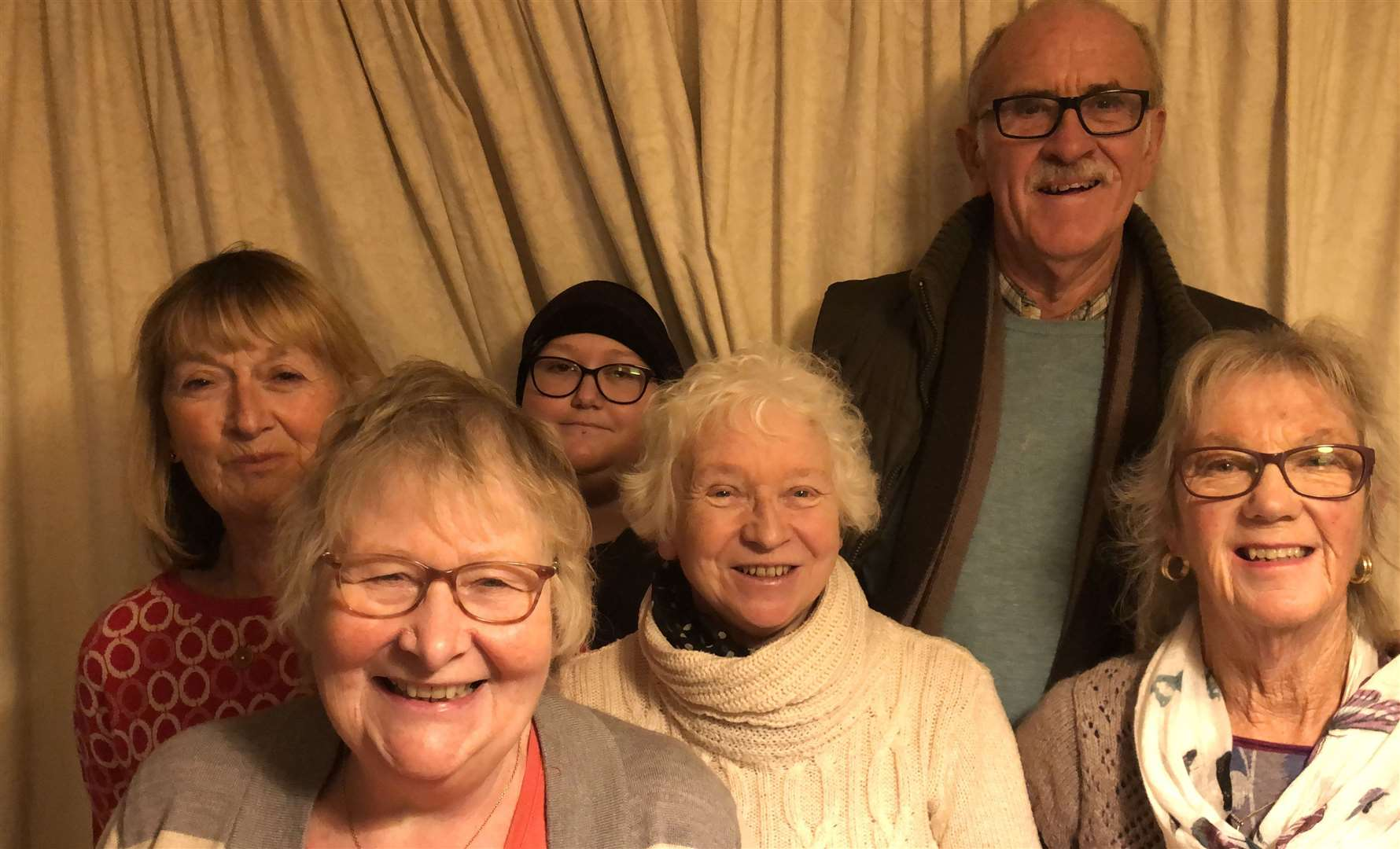 Six of the members of the Parochial Church Council of Graveney