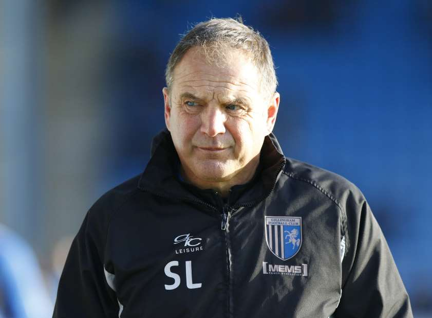 Gillingham boss Steve LovellPicture: Andy Jones