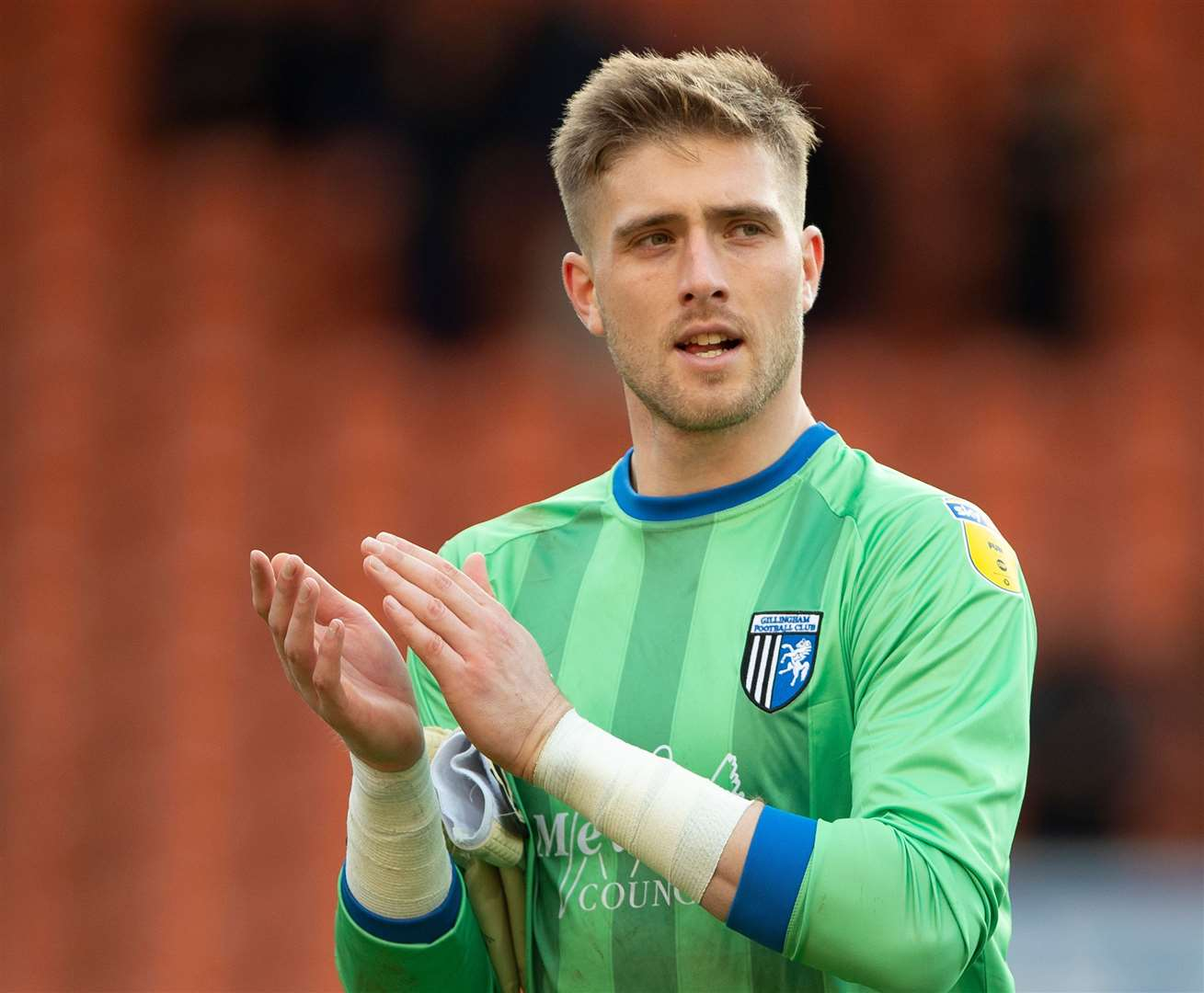 Gillingham's former goalkeeper Tomas Holy Picture: Ady Kerry