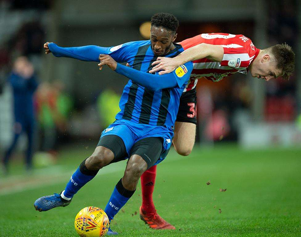 Sunderland vs Gillingham action Picture: Ady Kerry (7299288)