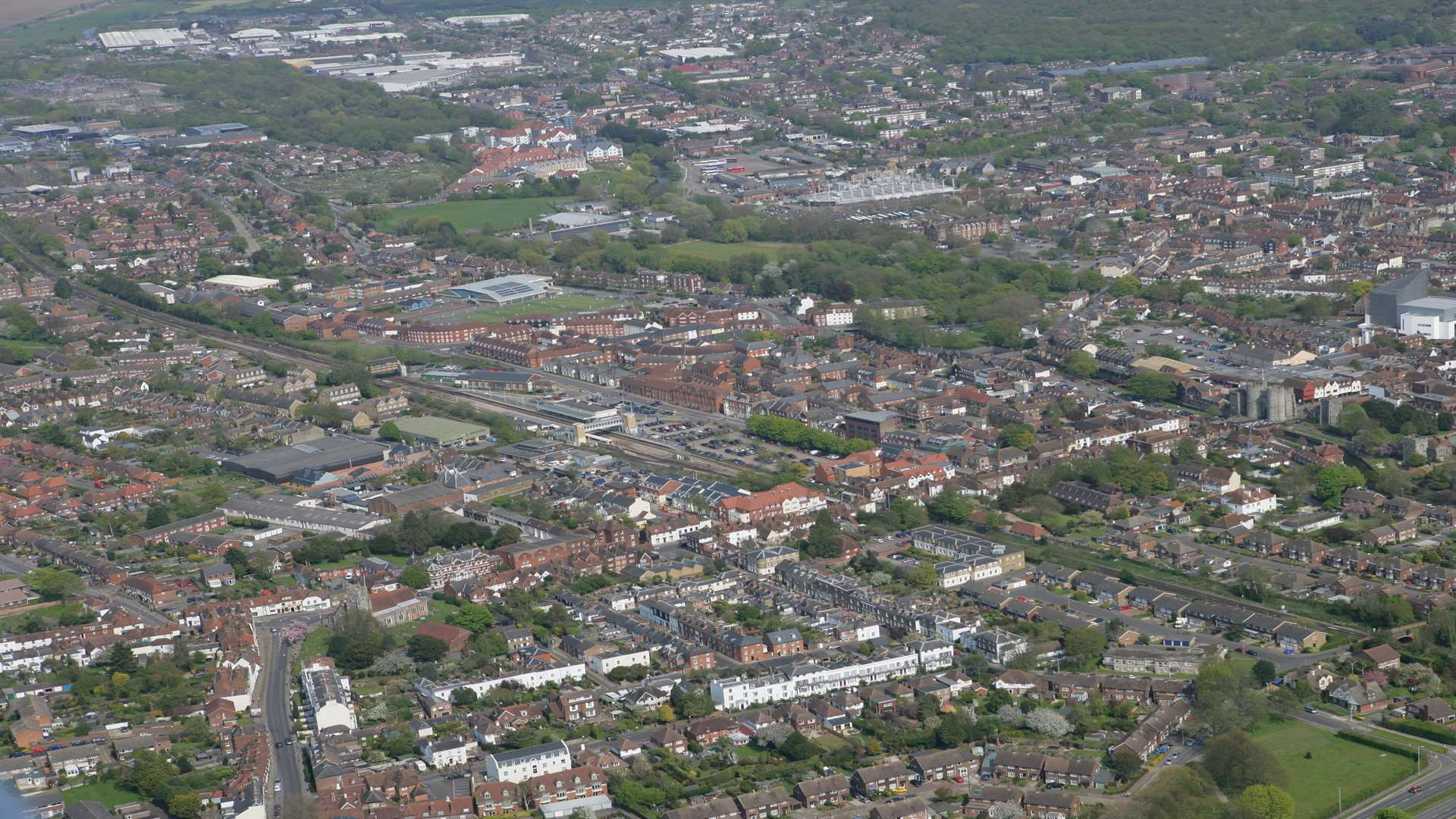 The planning inspector has amended Canterbury's Local Plan including for land at Canterbury West. Picture: Martin Apps