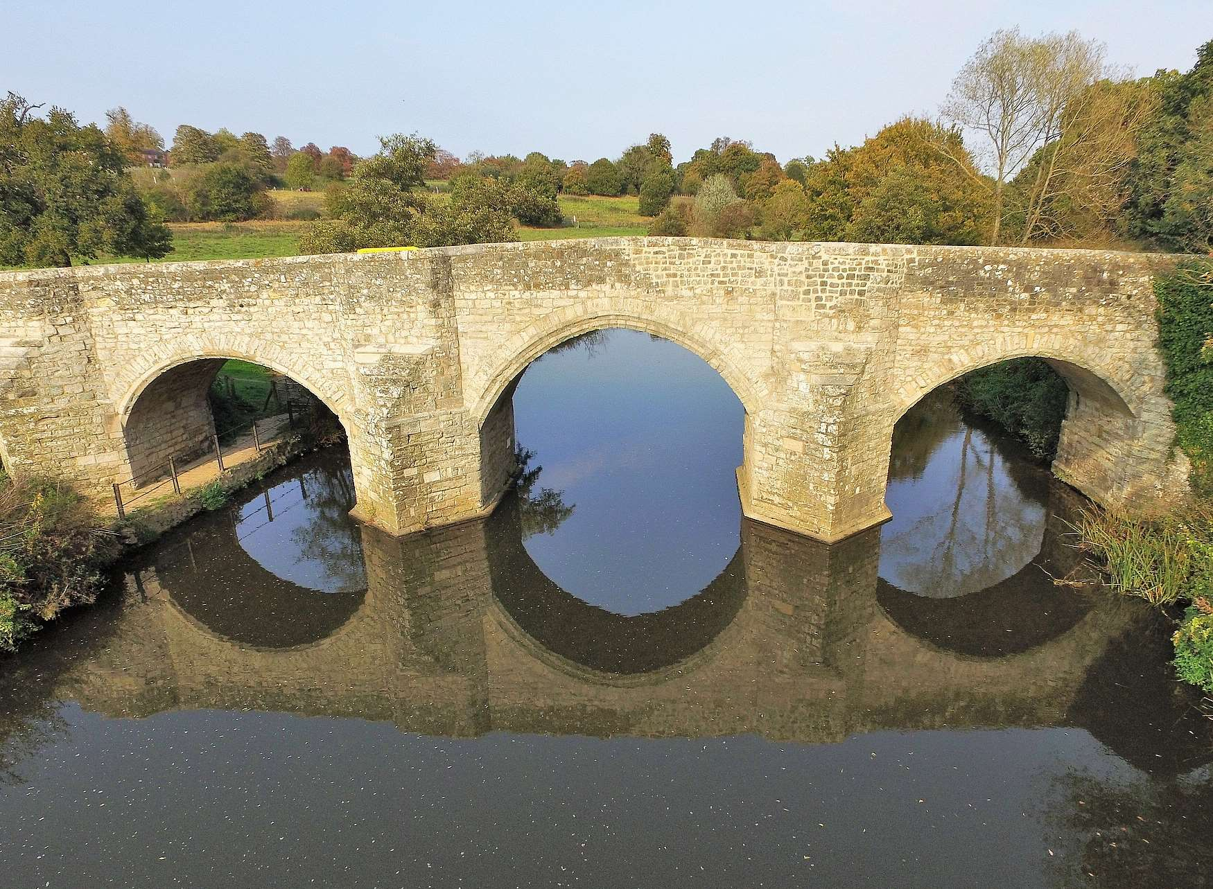 Teston Bridge. Picture: by Mike Mahoney