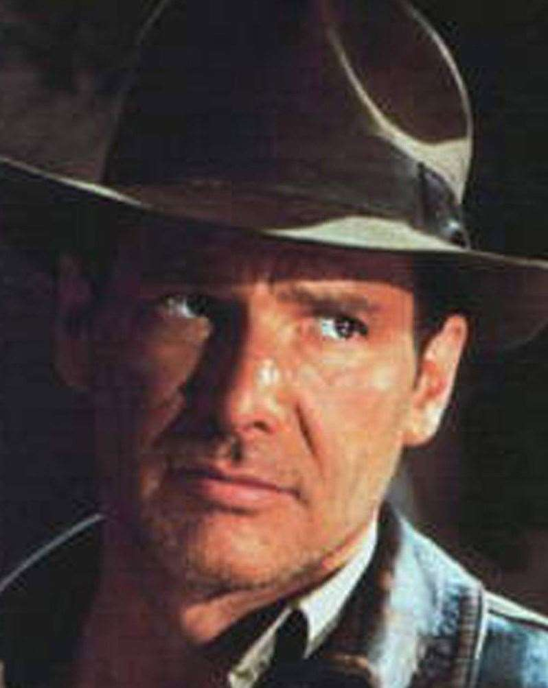 Harrison Ford stars as Indiana Jones
