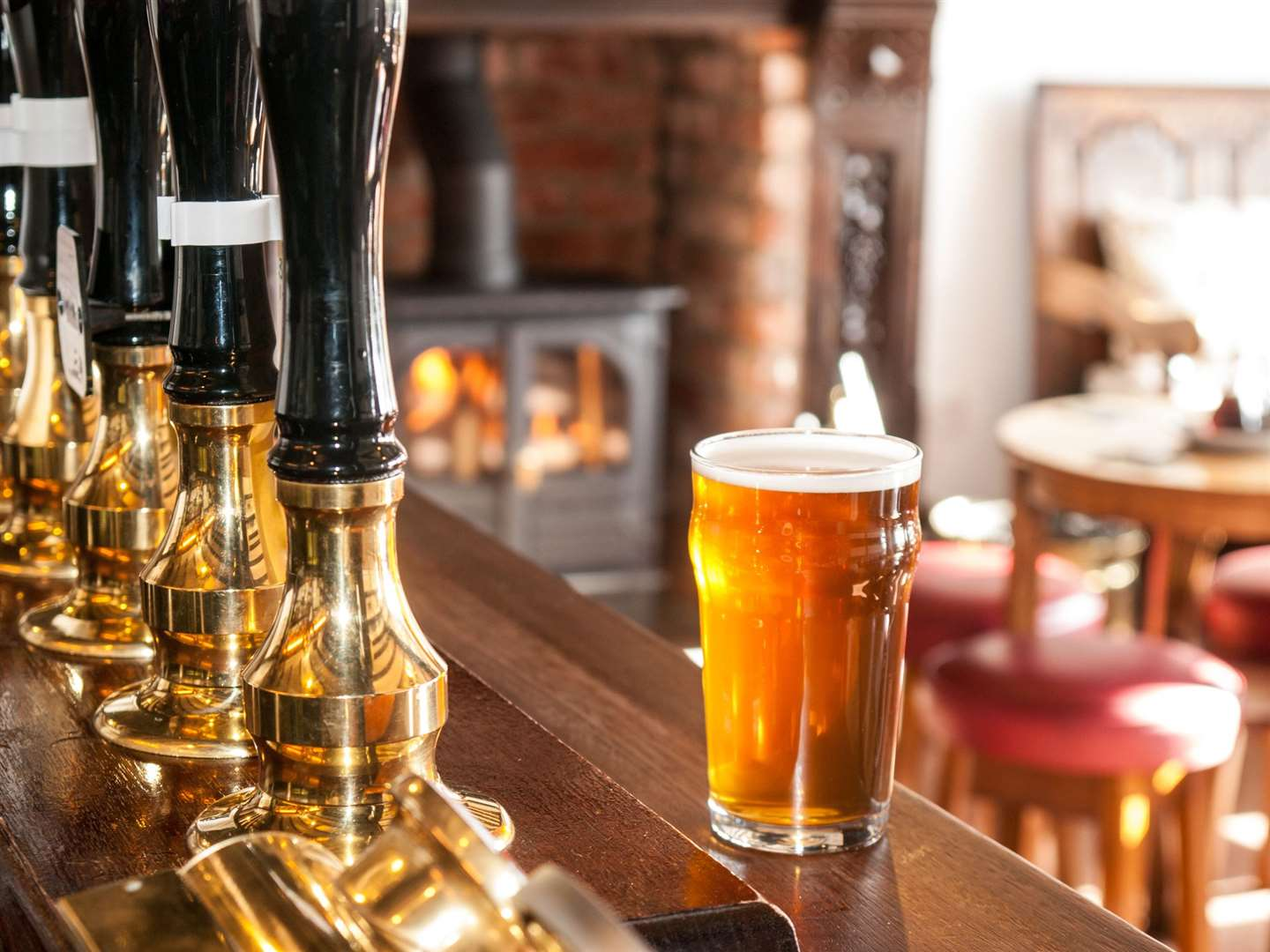 Get your pint and pull up a bar stool at the Stay Inn