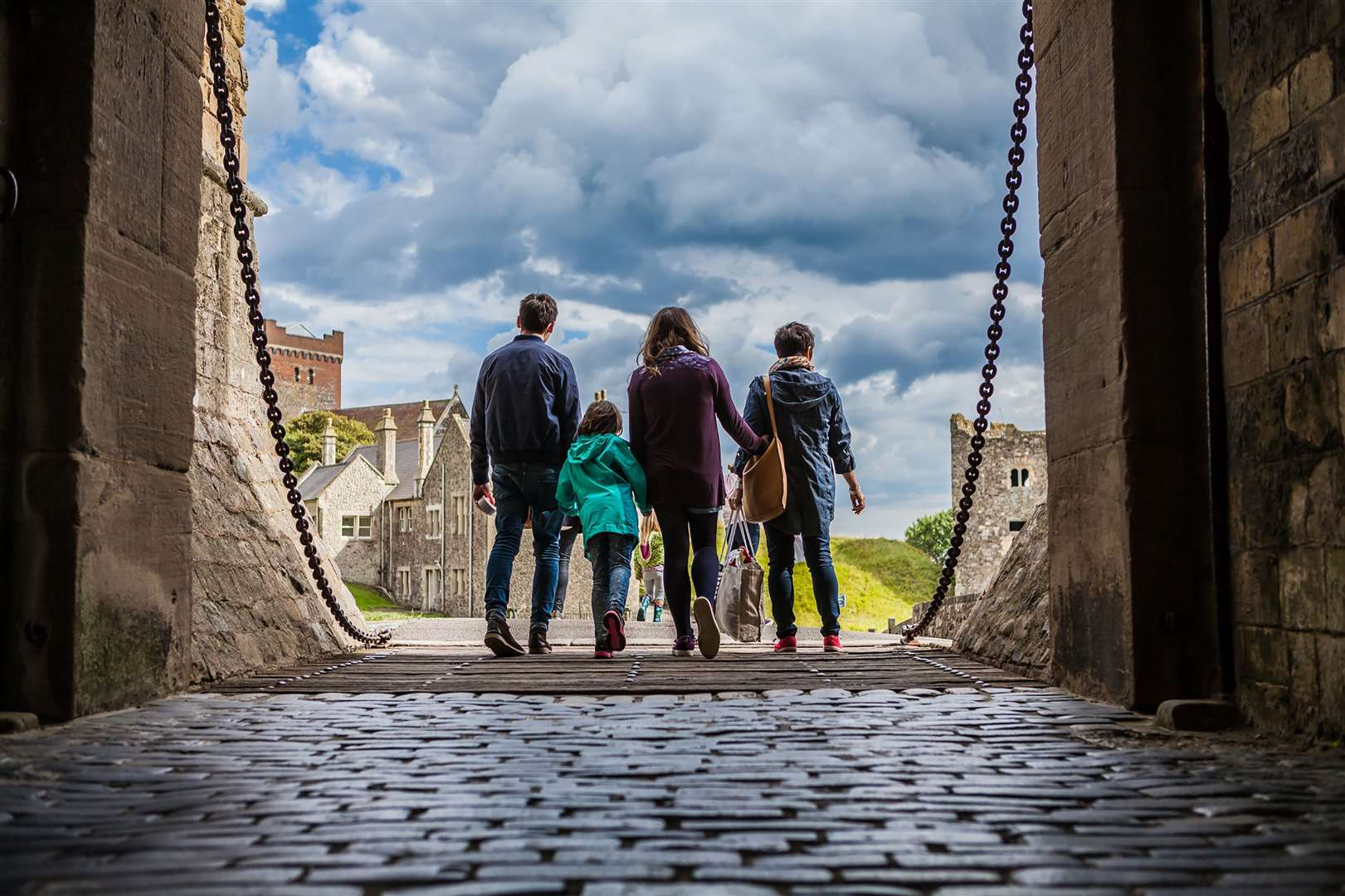 You'll need to pre-book a ticket to visit Dover Castle Picture: English Heritage