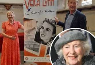 £3m campaign for Dame Vera Lynn statue on White Cliffs