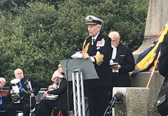 Memorial for heroes of the Dover Patrol is 100 years old