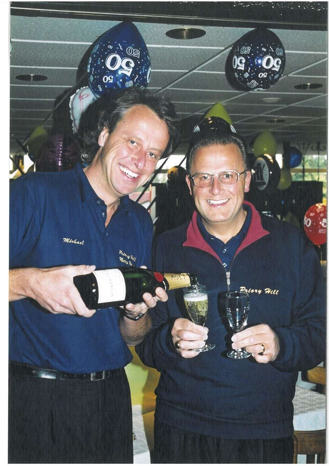 Brothers Mike and Phil Butcher celebrate the 50th anniversary of Priory Hill Holiday Park, Leysdown (10138557)