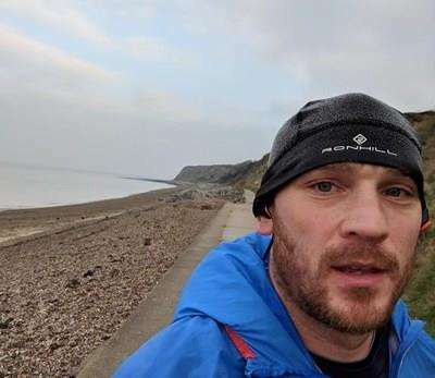 Dean Giles is preparing to run 68 miles in one day to raise money for Eva's Angels. (7188549)