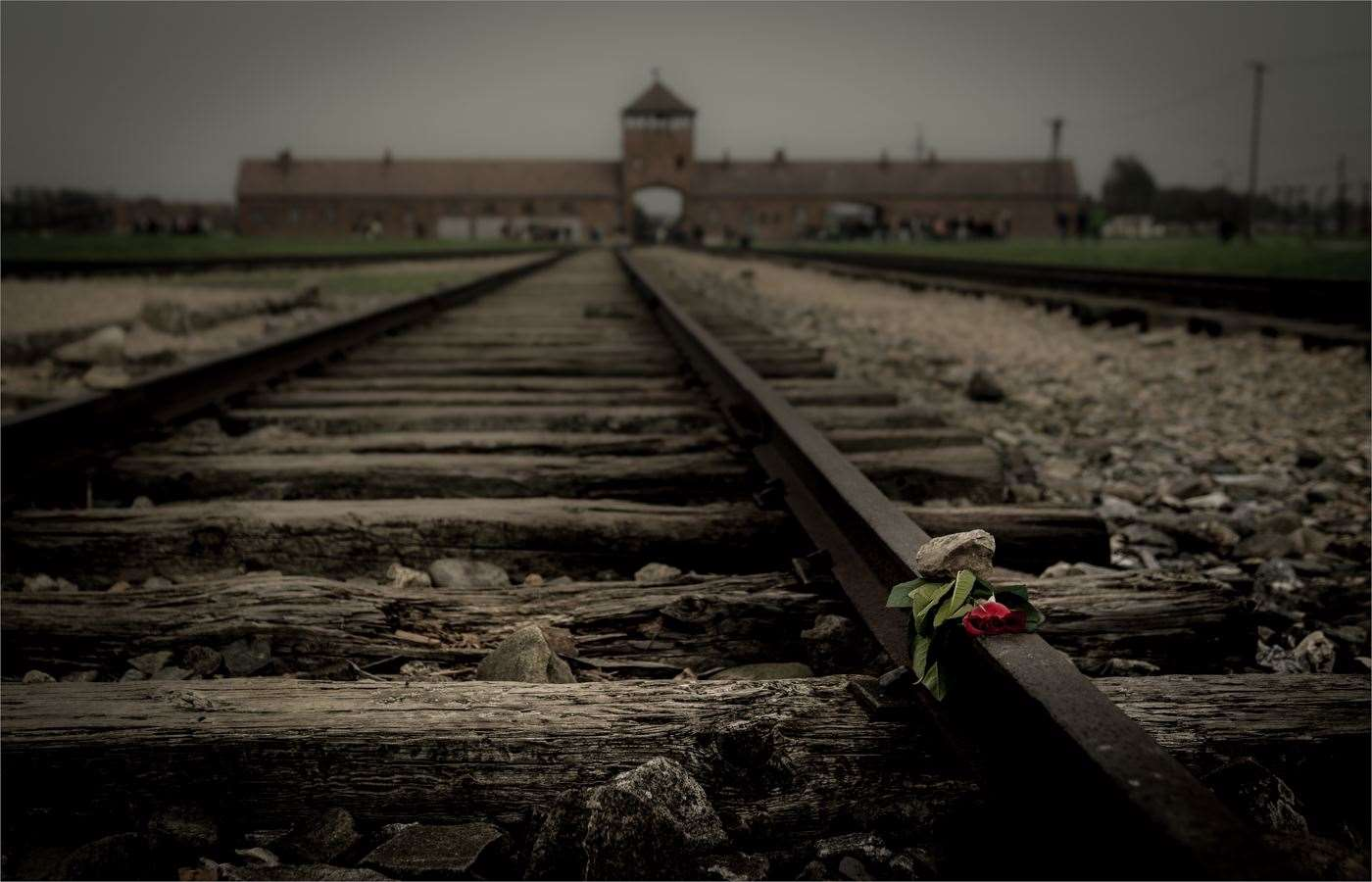 More than six million Jews were killed at Nazi concentration camps like Auschwitz. Picture: Neil French Ashford Photographic Society