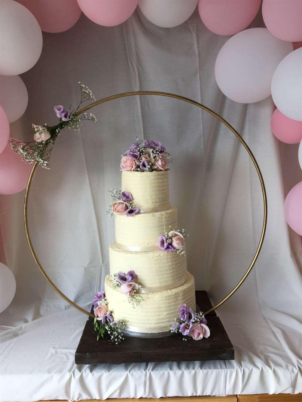 The last wedding cake Steve Davies baked