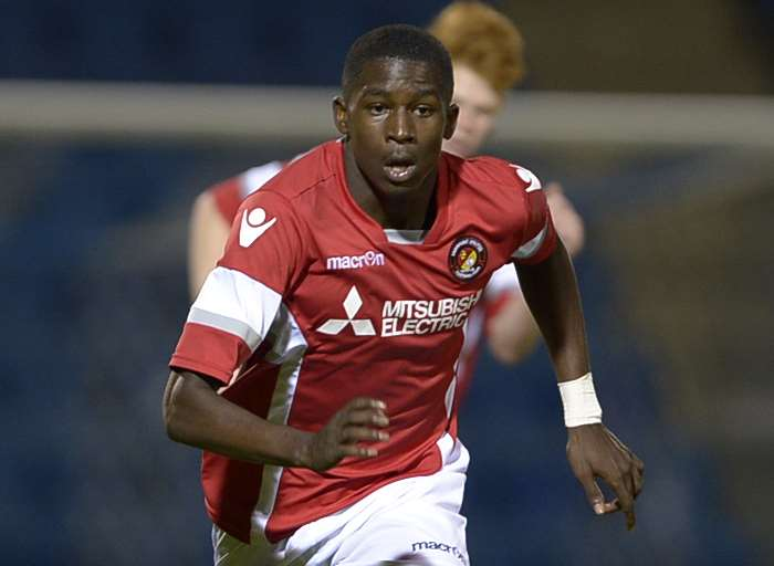 Ebbsfleet United academy player Shilow Tracey Picture: Barry Goodwin
