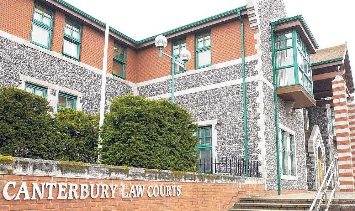 The pair were given suspended sentences at Canterbury Crown Court