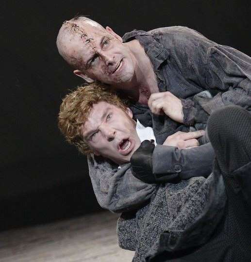 National Theatre at Home will show Frankenstein, starring Benedict Cumberbatch and Jonny Lee Miller