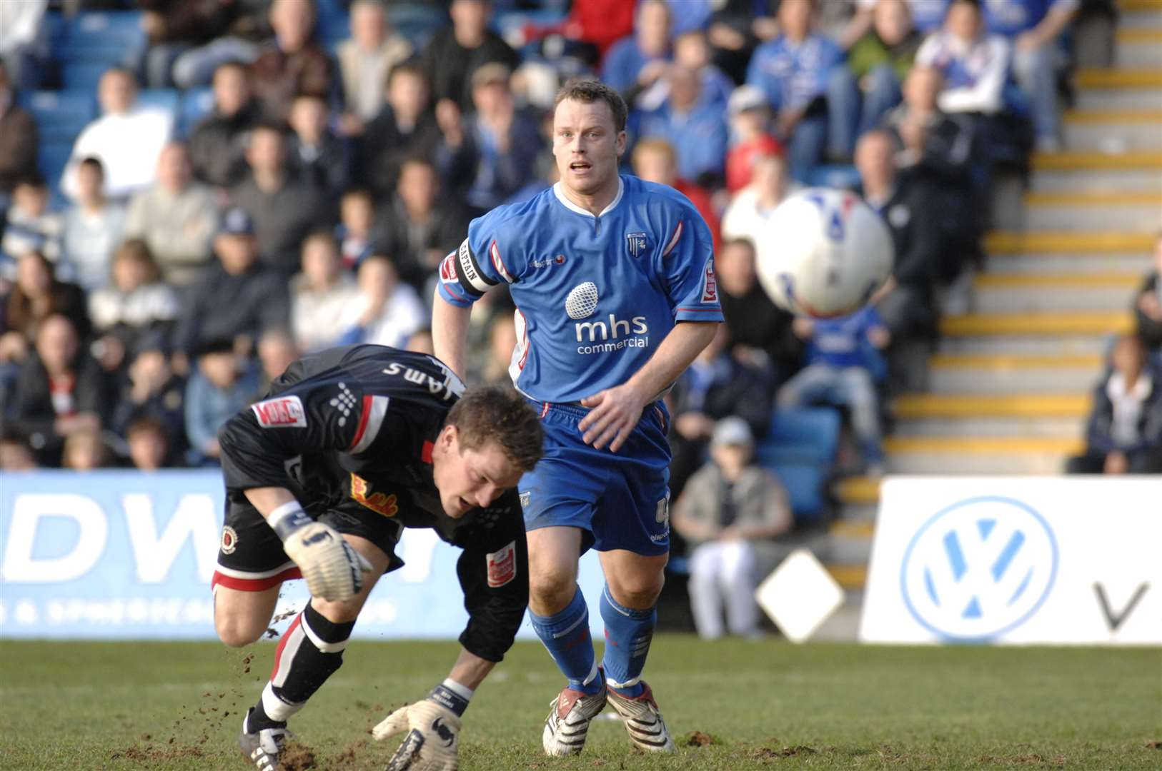 Michael Flynn in action for the Gills back in 2007