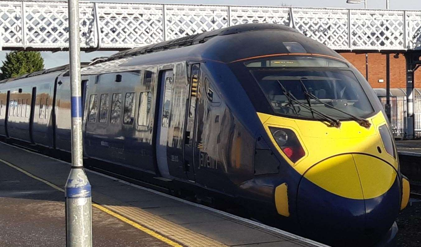 Trains from Ramsgate to Dover are affected but not going the other way