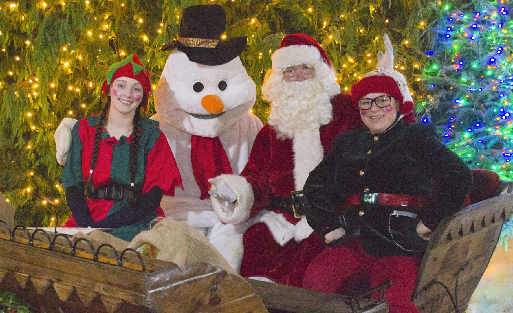 Santa is coming to the Rare Breeds Centre