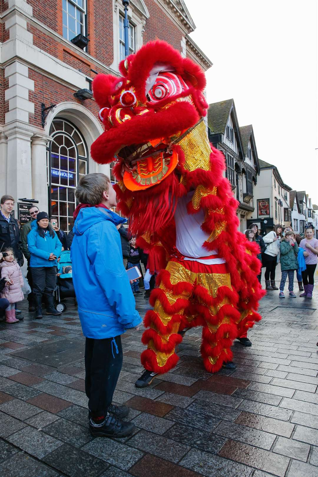 Maidstone last hosted Chinese New Year celebrations in 2017 Picture by: Matthew Walker
