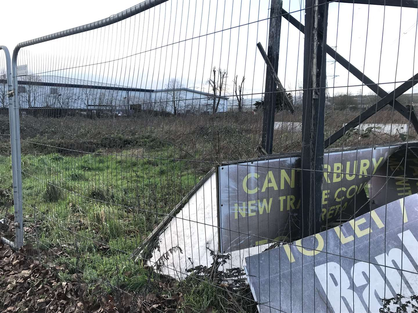 The site, which used to be part of the Southern Water sewage works, has long been a blot on the city's landscape