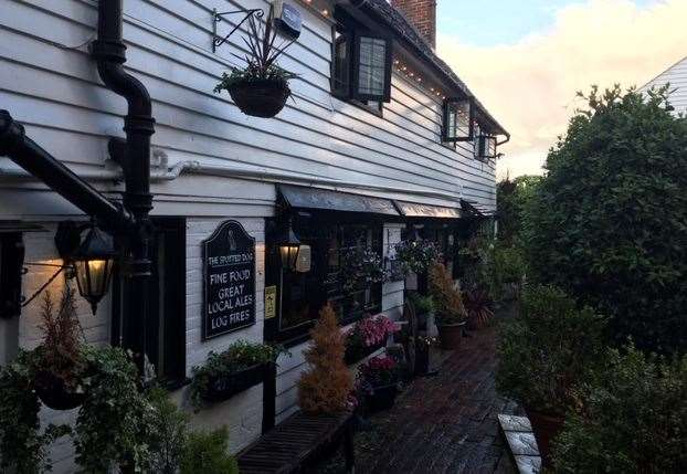 The Spotted Dog is a beautiful 15th century country inn, full of character, on Smarts Hill in picturesque Penshurst - just six miles from Tunbridge Wells