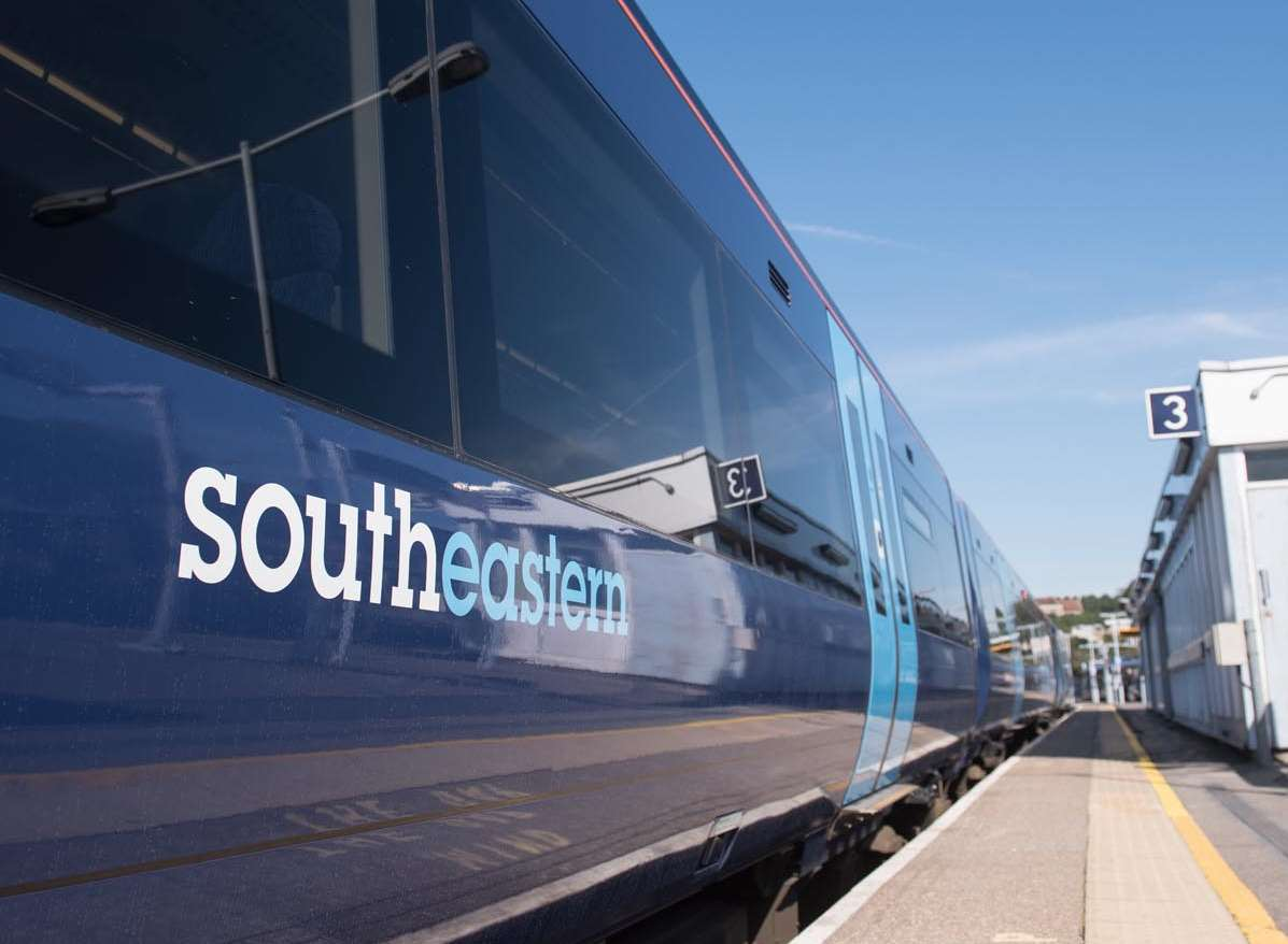 Southeastern trains will offer free wifi from today. Picture: Southeastern