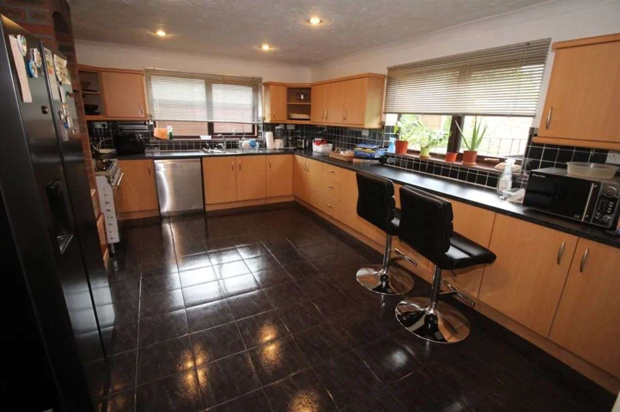 A look inside the kitchen. Picture: Zoopla / Your Move
