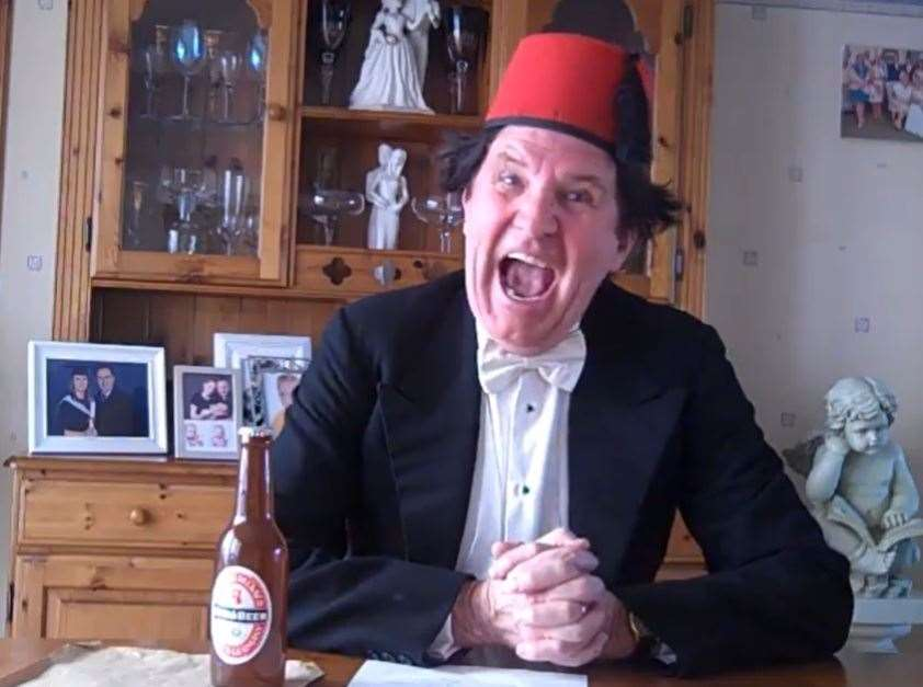 Neil Duncan as Tommy Cooper in Whitstable