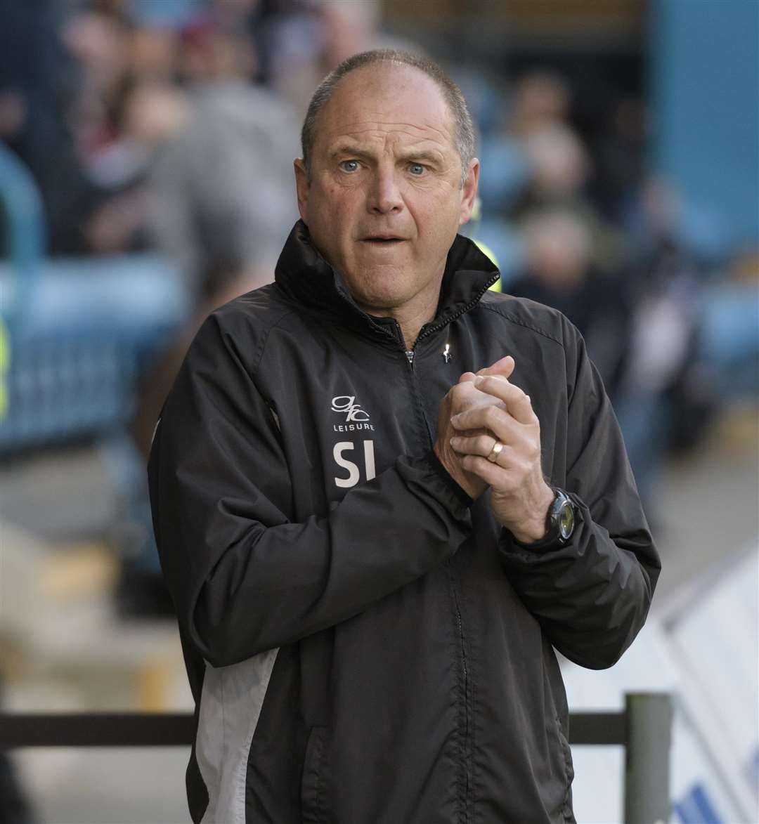 Gillingham manager Steve Lovell Picture: Andy Payton