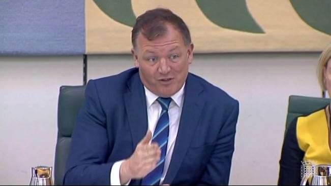 Folkestone and Hythe MP Damian Collins heads up the Digital, Culture, Media and Sport Committee.