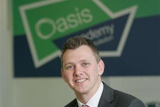 Departing Oasis Academy Isle of Sheppey executive principal David Millar