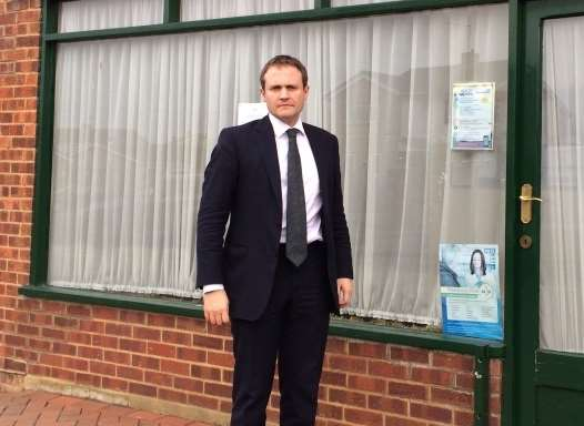 Tom Tugendhat has fought to save the East Peckham surgery.