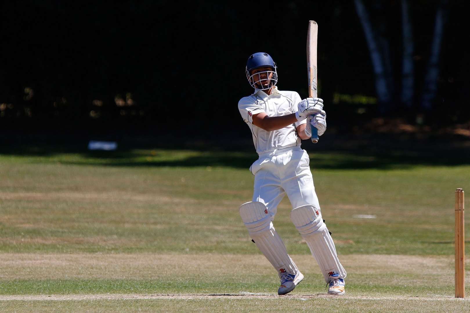 Oliver Patel achieved three centuries in a season