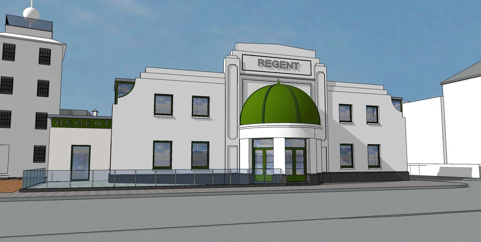 The latest plans for The Regent in Deal were submitted to DDC in late December 2018