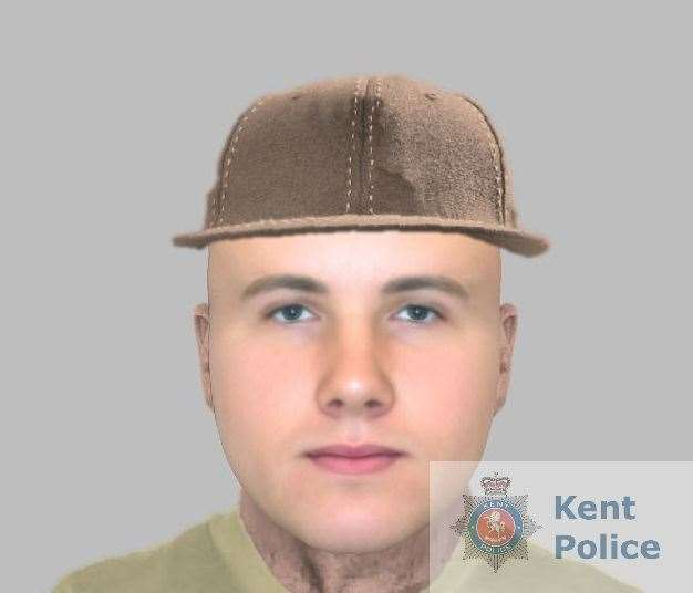 Police have released an image of the man they would like to speak to. Picture: Kent Police (23168032)