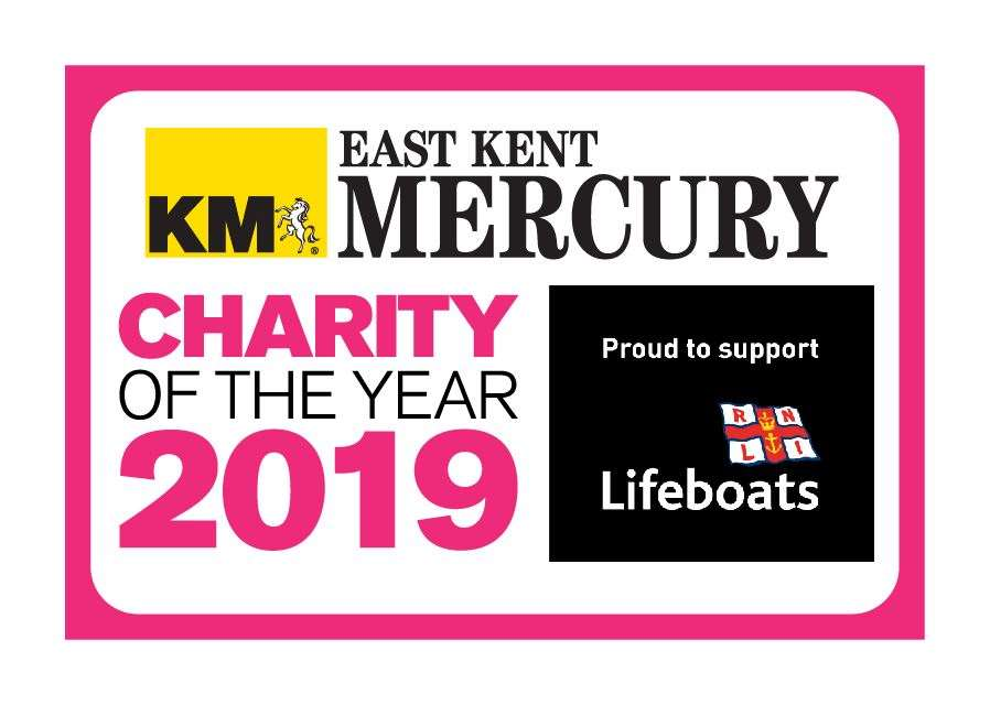 Walmer RNLI is the East Kent Mercury's 2019 Charity of the Year