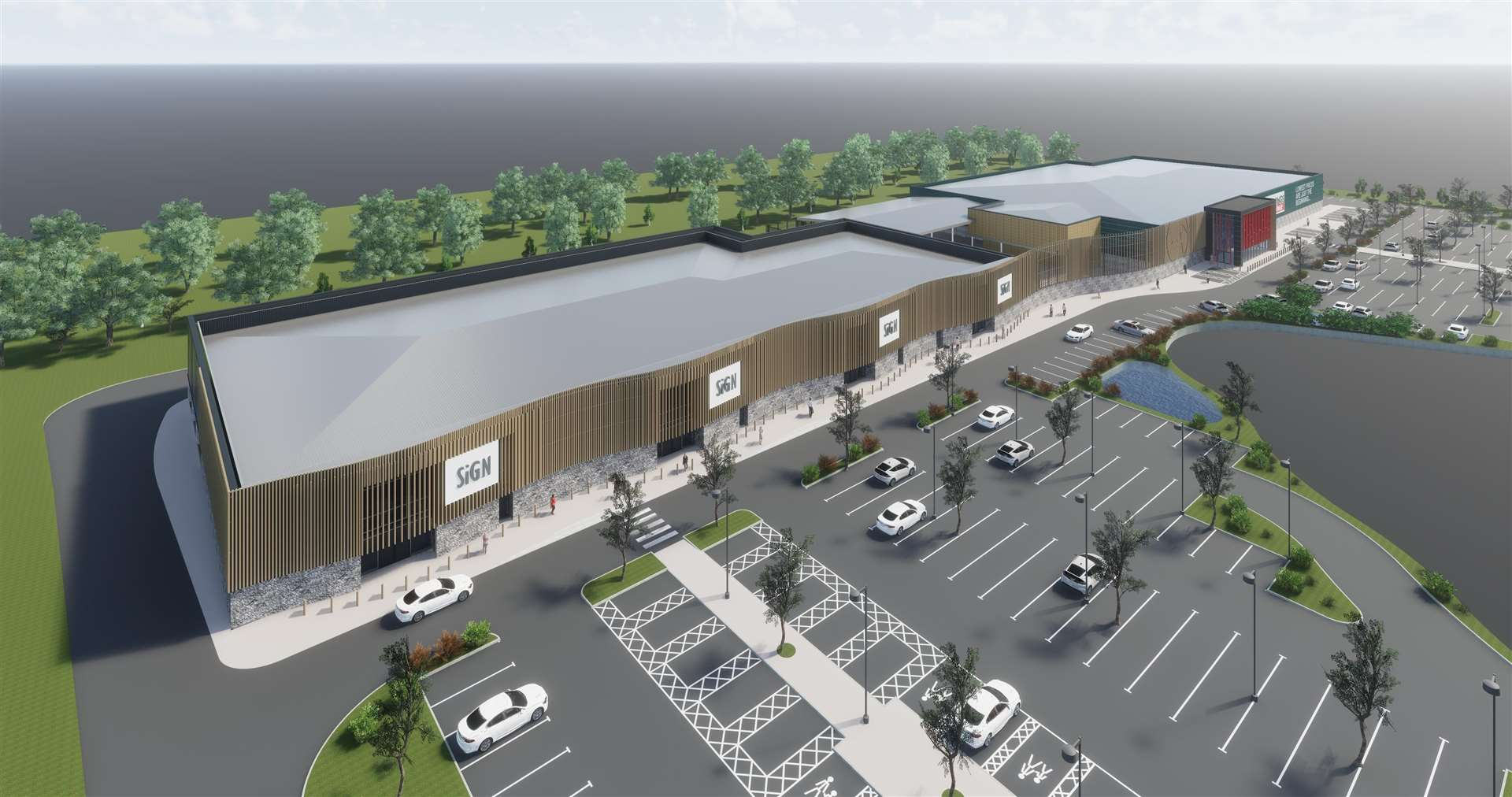 Five stores are proposed including Bunnings