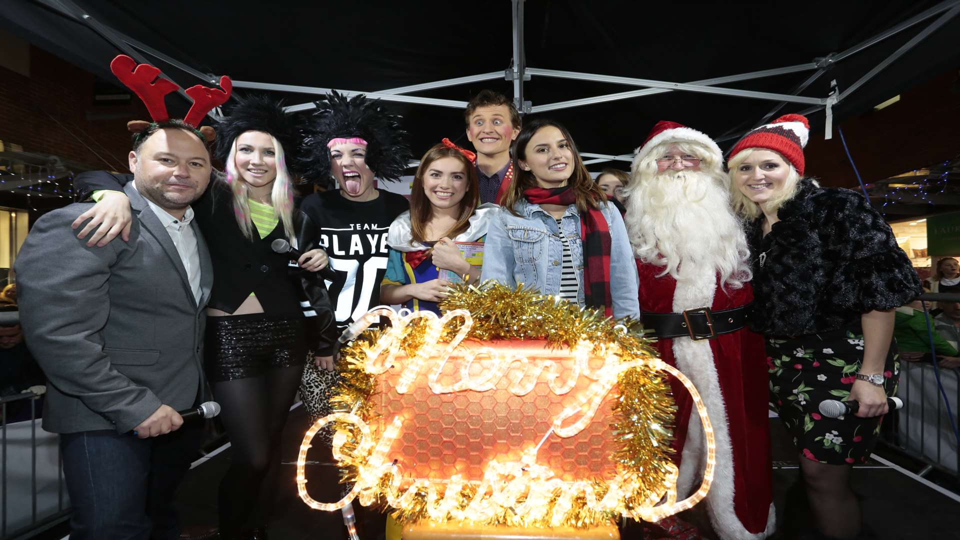 Made In Chelsea Star Among The Celebs As Maidstone S Christmas Images, Photos, Reviews