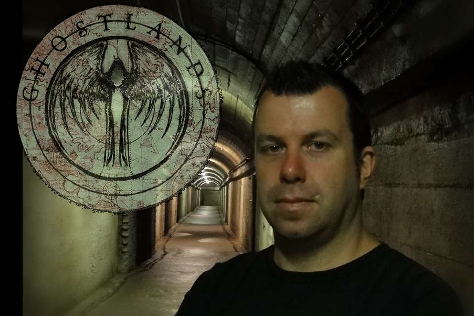 Ghost hunter Ciaran O'Keeffe will be at Hever for Halloween