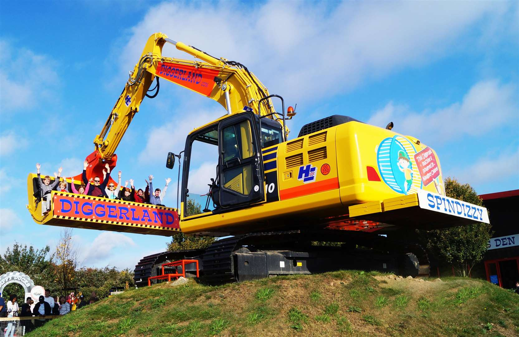 Diggerland in Strood will be part of the ticket giveaway