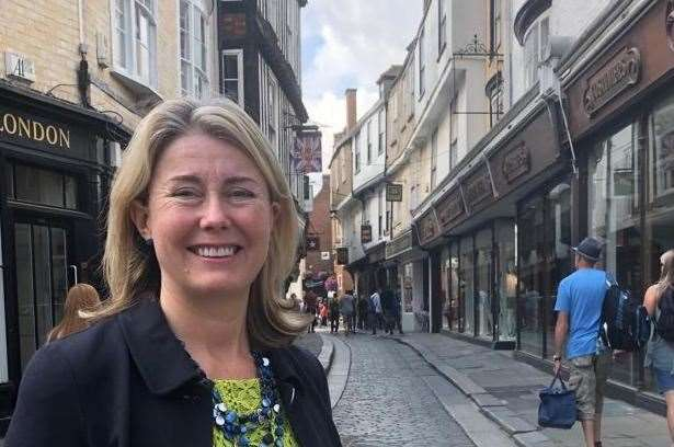Anna Firth says her top priority is the hospital bid for Canterbury