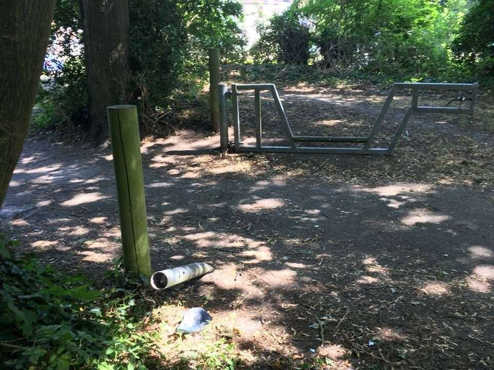 Another site is being investigated in Horn Street's Recreational Ground in Hythe